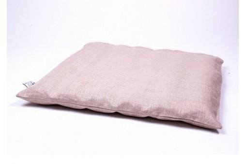 Zabuton - mata do medytacji z lnianym pokrowcem