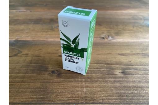 Eukaliptus - naturalny olejek eteryczny (Oleum eucalipti globulus)