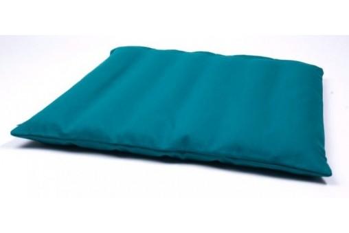 Materac gryczany z lnianym pokrowcem + poduszka