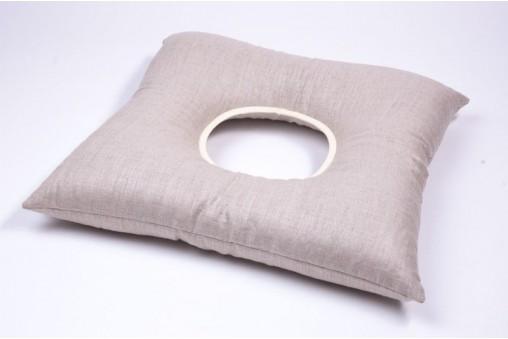 Lniana poduszka poporodowa z łuską gryki
