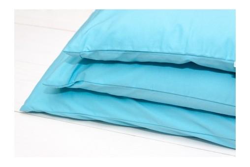 Zafu - poduszka do medytacji z łuską gryki w kszałtcie półksiężyca (klin)