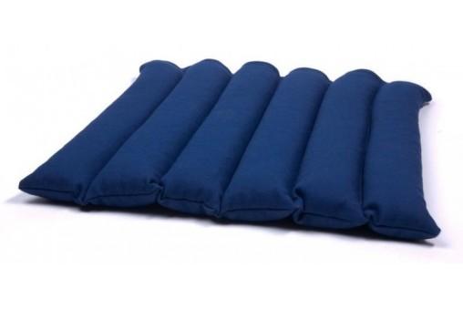 Poduszka do siedzenia przeszywana z łuską gryki - kolorowa