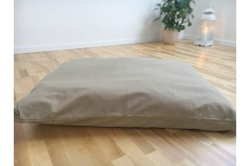 Mata do medytacji zabuton z miękkim wypełnieniem (panama)