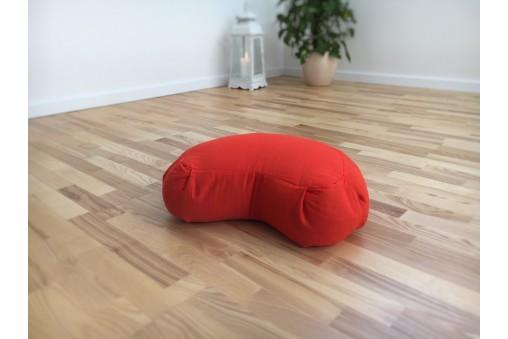 Zafu - poduszka do medytacji półksiężyc (seria: panama)